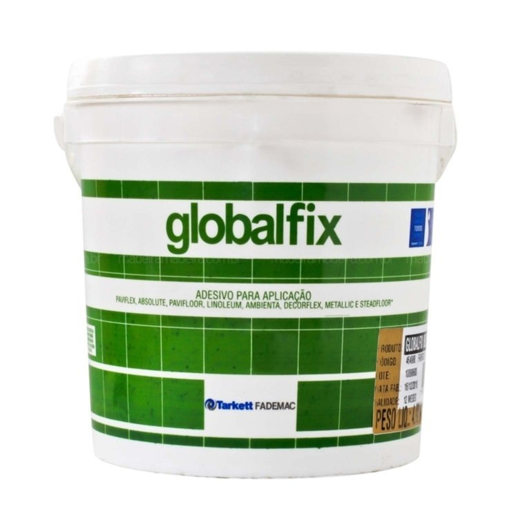 Cola Globalfix (Para pisos vinilicos em r�gua e manta) 4Kg
