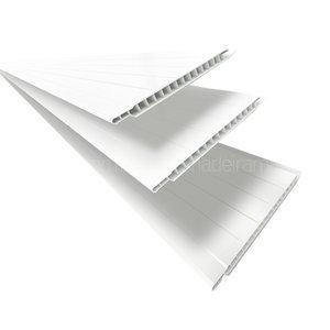 Forro Linear de PVC Polifort 8mm x 20cm x 3m (m�)