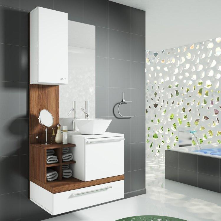 Gabinete para Banheiro com Espelheira Ravenna Celta Móveis (Não acompanha cub -> Kit Armario De Banheiro